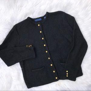 KAREN SCOTT 100% Wool Blazer
